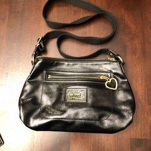 Coach Poppy Patent Leather Crossbody Bag - small